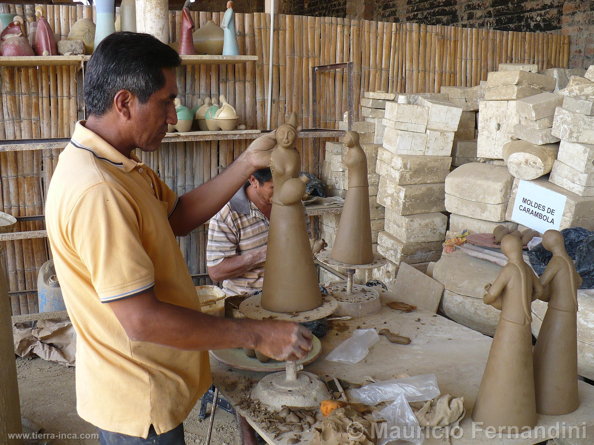 Elaboraci n de cer mica de chulucanas for Ceramica artesanal peru